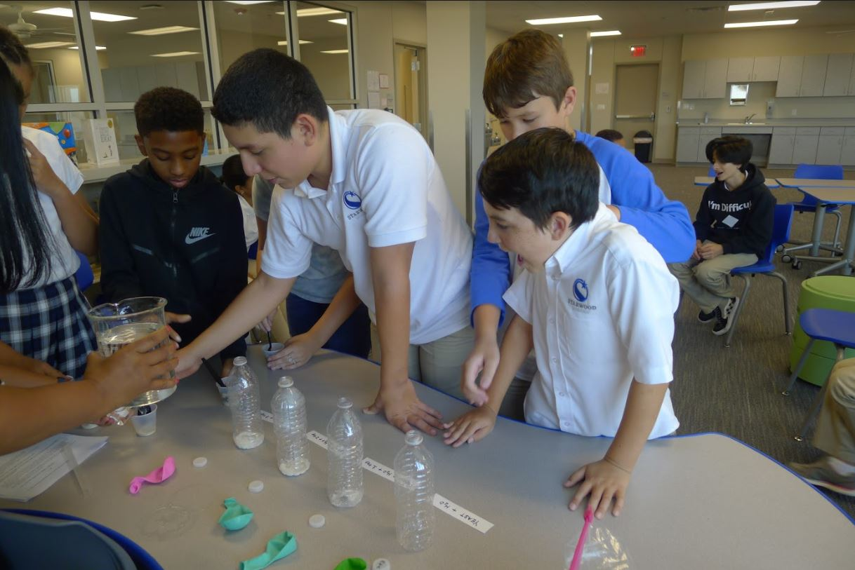 Middle School Students Starwood Academy of Frisco